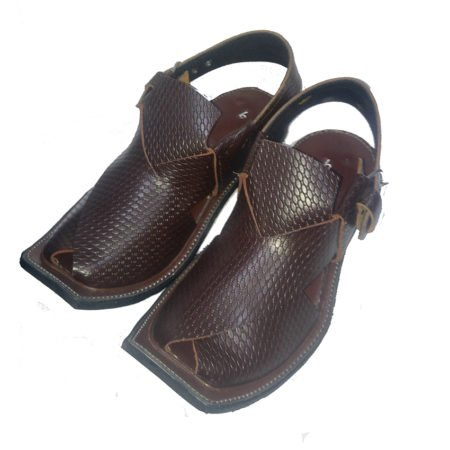 Peshawari 7610 Danedar Dark Brown