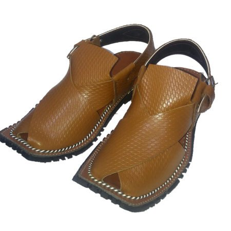 Peshawari 7610 Danedar Golden Brown