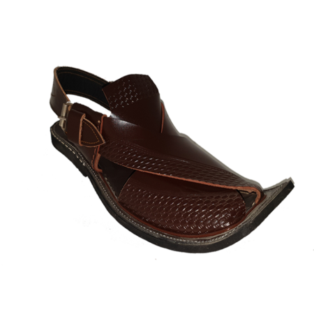 Peshawari 7610 Crocodile Dark Brown