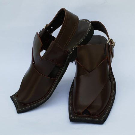 Peshawari T Shap Dark Brown